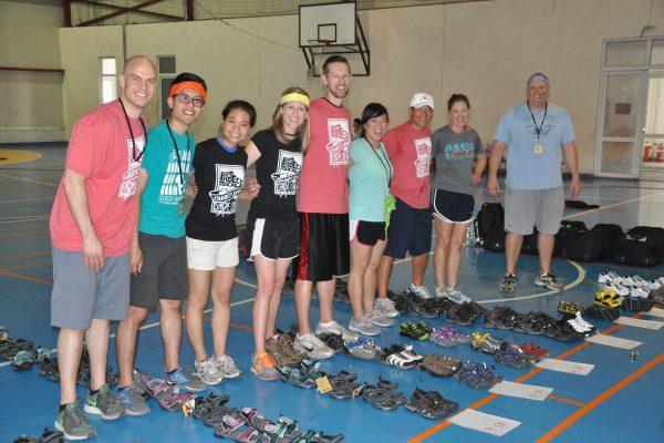 shoe drop at camp